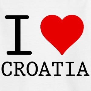 I LOVE CROATIA T-shirts - T-shirt barn