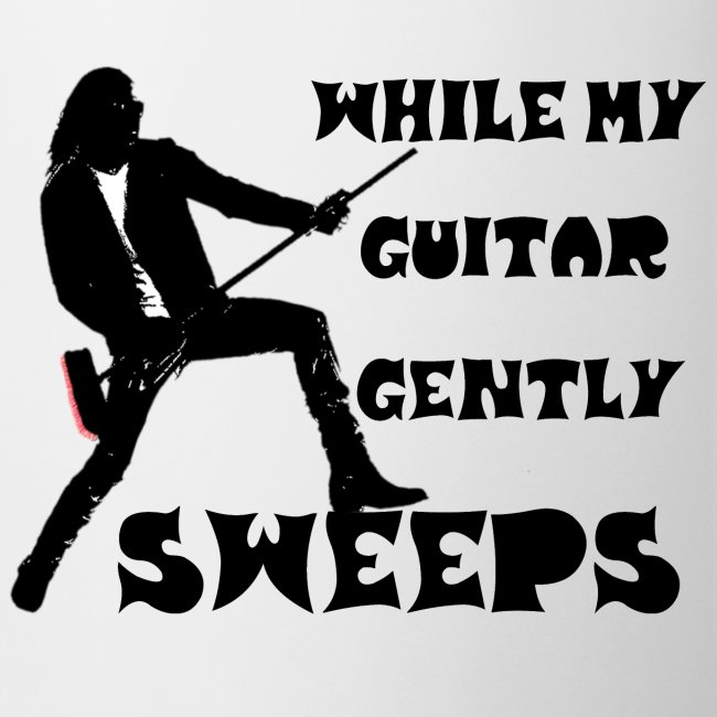 While My Guitar Gently Sweeps