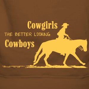 Cowgirls - better looking Cowboys Pullover & Hoodies - Frauen Premium Hoodie