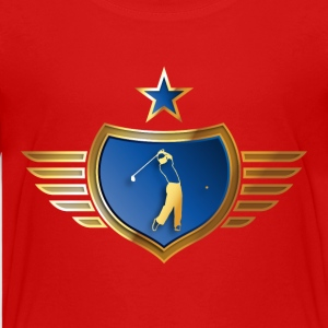golfer_072015_c13 T-Shirts - Teenager Premium T-Shirt