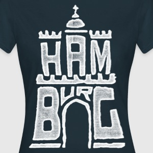 Hamburg Wappen T-Shirts - Frauen T-Shirt
