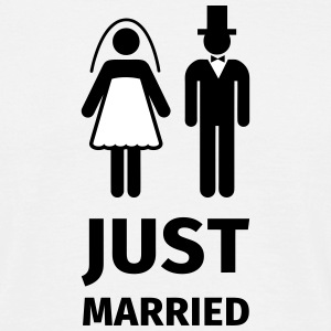 just married T-shirts - T-shirt herr
