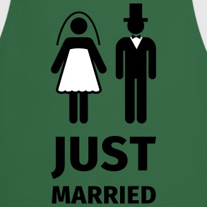 just married Delantales - Delantal de cocina