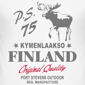 Finland - Land of Moose T-Shirts - Men's Slim Fit T-Shirt