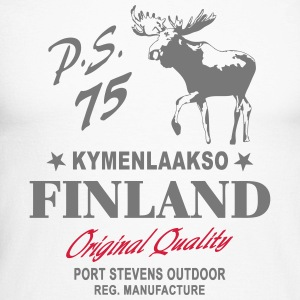 Finland - Land of Moose Long sleeve shirts - Men's Long Sleeve Baseball T-Shirt