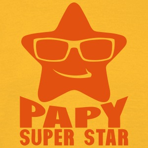 papy etoile super star 0 Tee shirts - T-shirt Homme