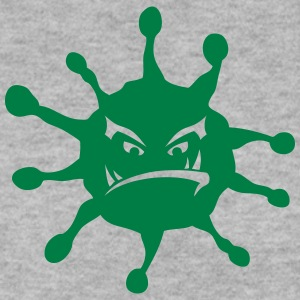 Virus illness icon nasty Hoodies & Sweatshirts - Men's Sweatshirt