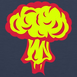 Explosion atomic nuclear mushroom Sports wear - Men's Premium Tank Top