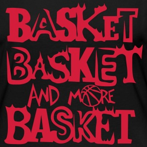 basket and more ballon basketball Manches longues - T-shirt manches longues Premium Femme