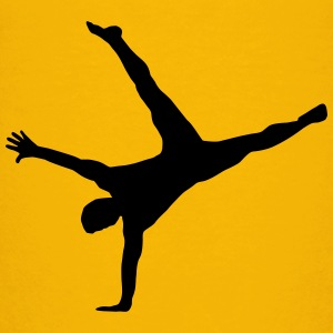 gymnast, gymnastics - breakdance, handstand, flair Shirts - Teenage Premium T-Shirt