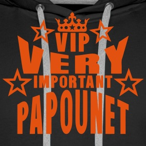 couronne vip very important papounet Pullover & Hoodies - Männer Premium Hoodie