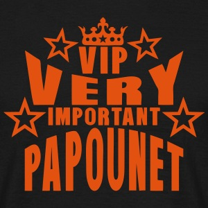 couronne vip very important papounet Tee shirts - T-shirt Homme