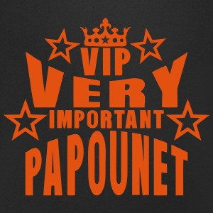 couronne vip very important papounet Tee shirts - T-shirt Homme col V