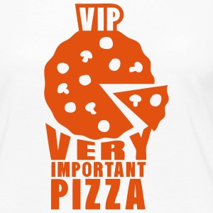 vip very important pizza quote Long Sleeve Shirts - Women's Premium Longsleeve Shirt