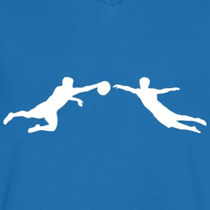Ultimate Frisbee men T-shirts - Herre T-shirt med V-udskæring
