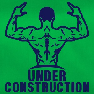 under construction bodybuilding logo mus Sacs et sacs à dos - Sac de sport