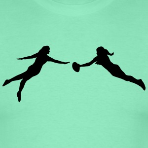 Ultimate Frisbee women T-Shirts - Männer T-Shirt