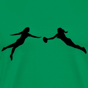 Ultimate Frisbee women T-Shirts - Men's Premium T-Shirt