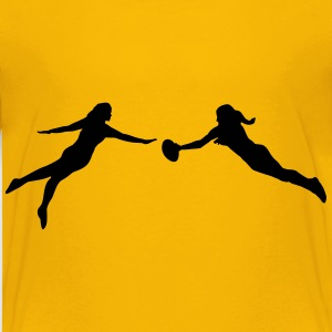 Ultimate Frisbee women Skjorter - Premium T-skjorte for barn