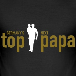 top papa - Männer Slim Fit T-Shirt
