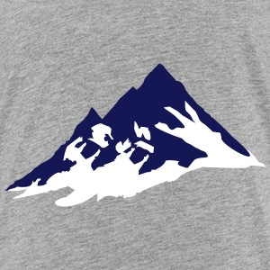 mountain, mountains Shirts - Teenager Premium T-shirt