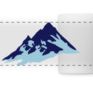 mountain, mountains Mugs & Drinkware - Panoramic Mug