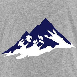 mountain, mountains T-shirts - Børne premium T-shirt