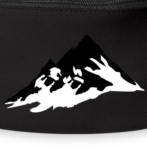 mountain, mountains Bags & Backpacks - Bum bag