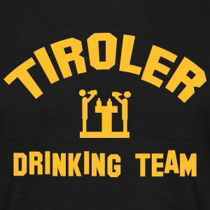 tiroler drinking team T-Shirts - Männer T-Shirt