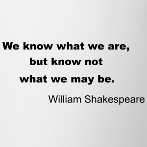 William Shakespeare Quote Mugs & Drinkware - Mug