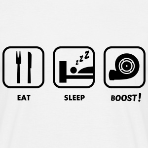 JDM Eat, Sleep, BOOST!  | T-shirts JDM T-Shirts - Männer T-Shirt