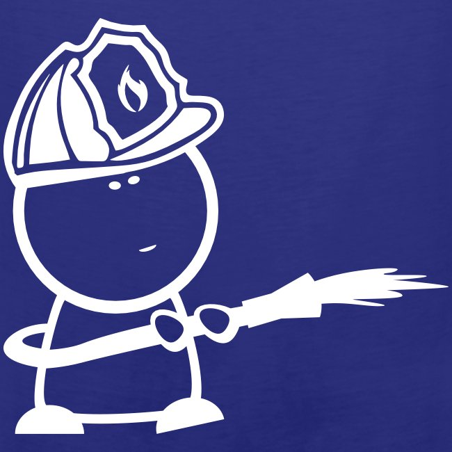 Retter-Firefighter-Nerd-Tank-Top