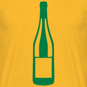 Champagne bottle alcohol  2406 T-Shirts - Men's T-Shirt