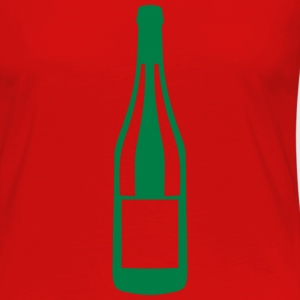 Champagne bottle alcohol  2406 Long Sleeve Shirts - Women's Premium Longsleeve Shirt
