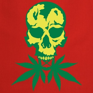 No cannabis drug skull  Aprons - Cooking Apron