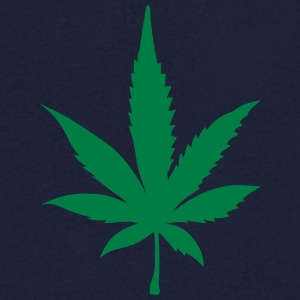 Cannabis leaf 2905 T-Shirts - Men's V-Neck T-Shirt