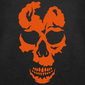 skull halloween 29052 Tops - Women's Premium Tank Top