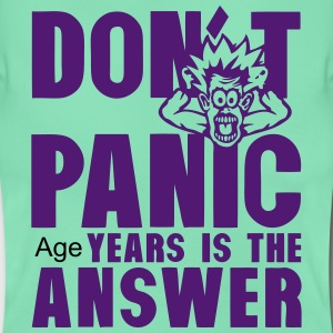 Add age years dont panic birthday T-Shirts - Women's T-Shirt