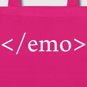 NO EMO Bags & Backpacks - EarthPositive Tote Bag