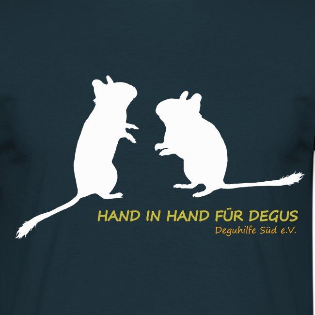 Degu-Duo - Hand in Hand für Degus