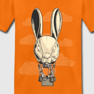 Oranje Hot Hare Balloon Shirts - Kinderen Premium T-shirt