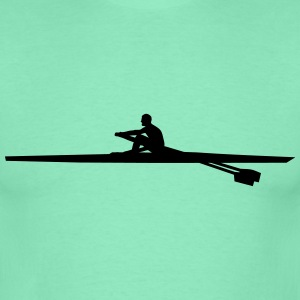 rowing single - man Camisetas - Camiseta hombre