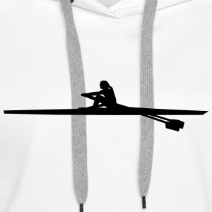 rowing - woman Hoodies & Sweatshirts - Women's Premium Hoodie