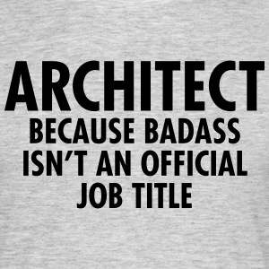 Architect - Badass T-shirts - Herre-T-shirt