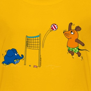 Kinder-T-Shirt 'Maus & Elefant' - Volleyball - Kinder Premium T-Shirt