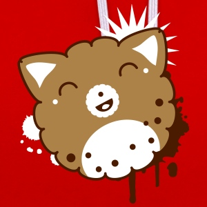 Cookie kawaii Sweat-shirts - Sweat-shirt contraste