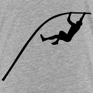 Pole vaulting - man Shirts - Teenager Premium T-shirt