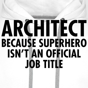 Architect - Superhero Gensere - Premium hettegenser for menn