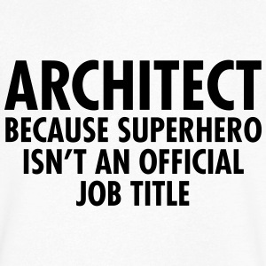 Architect - Superhero Tee shirts - T-shirt Homme col V