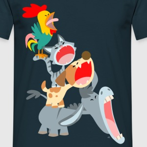 Bremen Town Musicians by Cheerful Madness!! T-Shirts - Men's T-Shirt